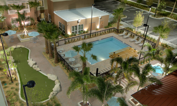 Homewood Suites Port Saint Lucie Pool Area