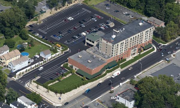 Hilton Garden Inn Troy Aerial