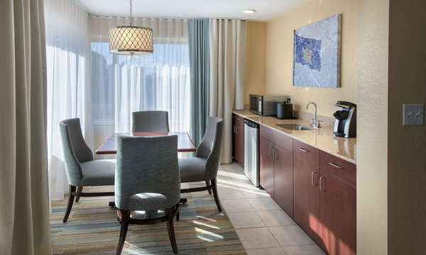 Hilton Garden Inn at Albany Medical Center Suite Dining
