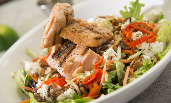 Power Salmon Salad